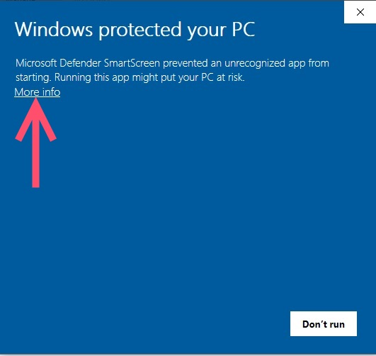 windows protected 1a